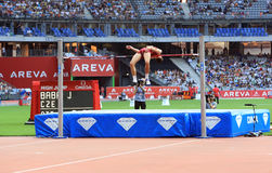 ΣΥΝΕΔΡΙΑΣΗ AREVA, ένωση διαμαντιών του Παρισιού IAAF Στοκ φωτογραφία με δικαίωμα ελεύθερης χρήσης