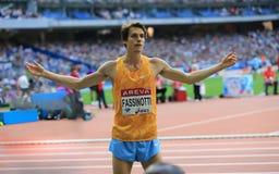 ΣΥΝΕΔΡΙΑΣΗ AREVA, ένωση διαμαντιών του Παρισιού IAAF Στοκ Φωτογραφία
