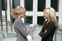 συνεργάτες επιχειρηματιών στοκ φωτογραφία