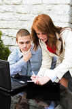 συνεργάτες επιχειρησιακής συνεδρίασης στοκ εικόνες με δικαίωμα ελεύθερης χρήσης