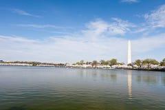 συνεχές μνημείο Ουάσιγκτον Στοκ φωτογραφίες με δικαίωμα ελεύθερης χρήσης
