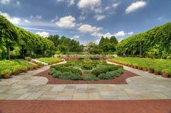 συνεχές ρεύμα εθνική Ουάσιγκτον δενδρολογικών κήπων Στοκ Φωτογραφία