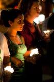 συνεχές ρεύμα Ιράν vigil Στοκ Φωτογραφία