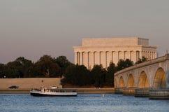 συνεχές ρεύμα Λίνκολν αναμνηστικές ΗΠΑ Ουάσιγκτον του Abraham Στοκ φωτογραφία με δικαίωμα ελεύθερης χρήσης