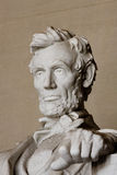 συνεχές ρεύμα Λίνκολν αναμνηστική Ουάσιγκτον του Abraham Στοκ φωτογραφίες με δικαίωμα ελεύθερης χρήσης
