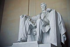 συνεχές ρεύμα Λίνκολν αναμνηστική Ουάσιγκτον Στοκ Φωτογραφίες