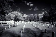 Συνεχές ρεύμα νεκροταφείων του Άρλινγκτον Στοκ φωτογραφίες με δικαίωμα ελεύθερης χρήσης