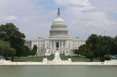 συνεχές ρεύμα Ουάσιγκτον capitol οικοδόμησης Στοκ εικόνα με δικαίωμα ελεύθερης χρήσης