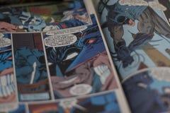 Συνεχές comics superhero Batman Στοκ Φωτογραφίες