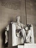 συνεχής Λίνκολν αναμνηστικός εθνικός Πρόεδρος Ουάσιγκτον Στοκ Εικόνες