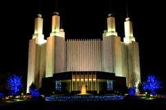 συνεχής 2 των Μορμόνων ναός Ουάσιγκτον Στοκ Εικόνες