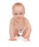 Συνεδρίαση ή σύρσιμο μικρών παιδιών μωρών παιδιών νηπίων Στοκ φωτογραφία με δικαίωμα ελεύθερης χρήσης