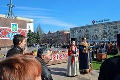 Συνεδρίαση για την Ουκρανία Στοκ φωτογραφία με δικαίωμα ελεύθερης χρήσης