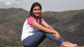Συνεδρίαση γυναικών στα βουνά απόθεμα βίντεο