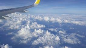 Συνεδρίαση με τα σύννεφα Στοκ φωτογραφία με δικαίωμα ελεύθερης χρήσης