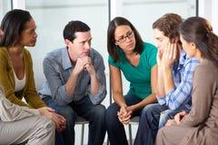 Συνεδρίαση της ομάδας στήριξης Στοκ Φωτογραφία