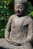 Συνεδρίαση του Βούδα με τις προσοχές ιδιαίτερες Στοκ Φωτογραφίες