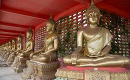 Συνεδρίαση του Βούδα περισυλλογής Στοκ εικόνες με δικαίωμα ελεύθερης χρήσης