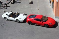Συνεδρίαση του Ferrari Στοκ Φωτογραφία