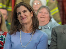 Συνεδρίαση των Δημαρχείων του Chris Christie στοκ φωτογραφίες με δικαίωμα ελεύθερης χρήσης