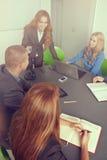 Συνεδρίαση Στοκ εικόνες με δικαίωμα ελεύθερης χρήσης