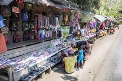 συνηθισμένη εικόνα αγορών της Μαδαγασκάρης, στις 17 Οκτωβρίου 2016, Μαδαγασκάρη Στοκ Εικόνα