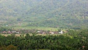 συνηθισμένο ασιατικό ορεινό χωριό, Τζοτζακάρτα, Ινδονησία απόθεμα βίντεο