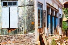 Συνηθισμένο κτήριο στη νότια Ινδία Στοκ Φωτογραφία