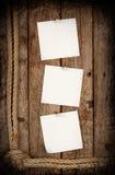 Συνημμένα αυτοκόλλητες ετικέττες κουμπιά Στοκ Εικόνες
