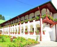 Συνθήκες διαβίωσης μοναστήρι-καλογριών Agapia Στοκ φωτογραφία με δικαίωμα ελεύθερης χρήσης