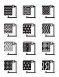 Συνθετικές επιφάνειες οικοδόμησης Στοκ εικόνα με δικαίωμα ελεύθερης χρήσης