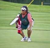 συνοδός παίχτη γκολφ Φανή H Στοκ φωτογραφία με δικαίωμα ελεύθερης χρήσης