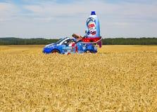 Συνολικός γύρος de Γαλλία 2017 οχημάτων Χ-Tra Στοκ Εικόνες