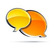 συνομιλία κιβωτίων διανυσματική απεικόνιση