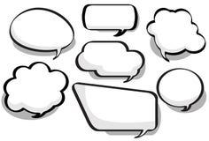 συνομιλία φυσαλίδων Στοκ εικόνες με δικαίωμα ελεύθερης χρήσης