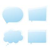 Συνομιλία 2 Chit Στοκ Εικόνες