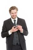 Συνομιλία και νέα τεχνολογία Στοκ εικόνες με δικαίωμα ελεύθερης χρήσης