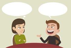 Συνομιλία διανυσματική απεικόνιση