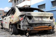 Συνολική απώλεια λόγω της πυρκαγιάς Στοκ φωτογραφίες με δικαίωμα ελεύθερης χρήσης