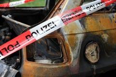 Συνολική απώλεια λόγω της πυρκαγιάς Στοκ εικόνες με δικαίωμα ελεύθερης χρήσης