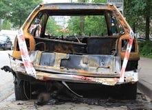 Συνολική απώλεια λόγω της πυρκαγιάς Στοκ φωτογραφία με δικαίωμα ελεύθερης χρήσης