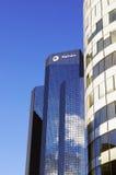 Συνολικός ουρανοξύστης γύρου στην υπεράσπιση Λα, Παρίσι Στοκ Εικόνες
