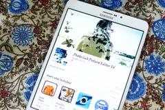 Συντάκτης fx app εικόνων εργαστηρίων φωτογραφιών Στοκ εικόνες με δικαίωμα ελεύθερης χρήσης