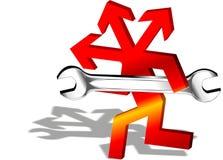 συντήρηση λογότυπων Στοκ Εικόνες