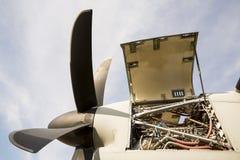 Συντήρηση στροβίλων μηχανών αεροσκαφών Στοκ Φωτογραφίες