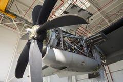 Συντήρηση στροβίλων μηχανών αεροσκαφών Στοκ Εικόνες