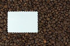 Συνταγή για τον καφέ Στοκ Φωτογραφία