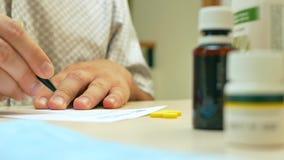 Συνταγή γραψίματος χεριών γιατρών rx φιλμ μικρού μήκους