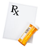 συνταγή φαρμάκων Στοκ φωτογραφίες με δικαίωμα ελεύθερης χρήσης