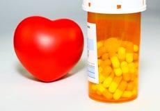 συνταγή φαρμάκων Στοκ Εικόνα